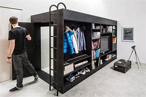 Living In The Box : bunk beds for adults living in a box has been a different meaning fresh design pedia ~ Markanthonyermac.com Haus und Dekorationen