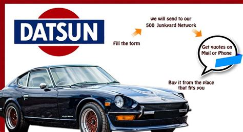 Datsun Auto Parts by Used Datsun Parts Auto Parts Oem Parts For Cars