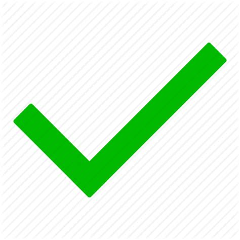 Finder Yes by Check Checkmark Green Ok Tick Yes Icon