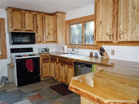 custom built kitchen cabinets hand crafted custom cedar kitchen cabinets by king of the