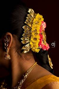 Traditional South Indian bride's bridal hairstyle South Indian brides Pinterest