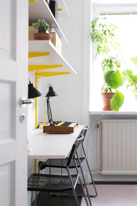 amenager un coin bureau appartement original et coloré
