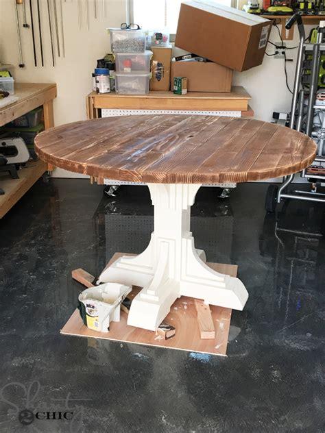 diy  table shanty  chic