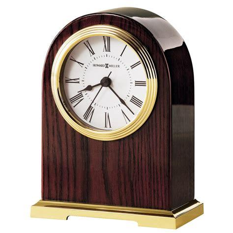 howard miller table clock howard miller carter mechanical table clock 645389