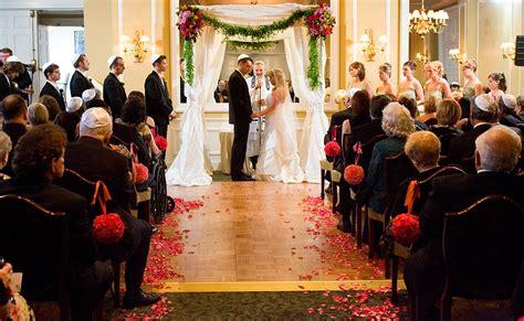 Seattle Tennis Club Wedding A Jewish Wedding Ceremony