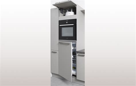 meuble cuisine frigo meuble pour frigo encastrable cuisine en image
