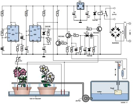 Free Electronic Circuits Project Diagram Schematics