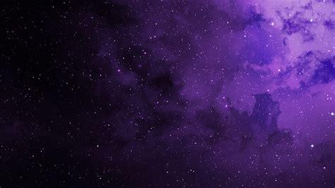 Wallpaper Stars Purple Cosmos Hd Space 7172