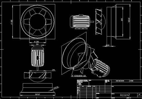 axial fan dwg block  autocad designs cad