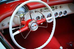 1954 Corvette Dash Photograph by Steve McKinzie