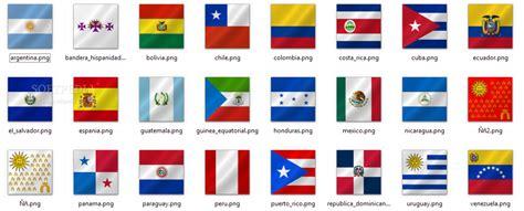 spanish speaking countries flags printables printable