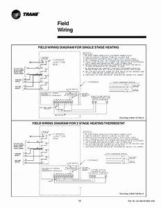 Field Wiring  Field Wiring Diagram For Single Stage