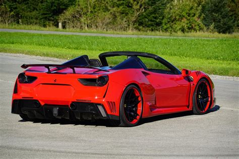 Novitec Reveal 760 HP Ferrari 488 Spider N-Largo