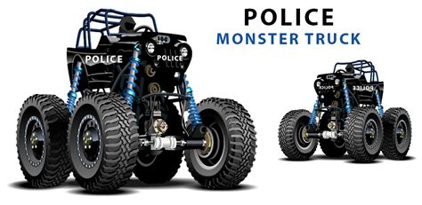 monster truck racing games for kids amazon com police monster truck racing games for kids