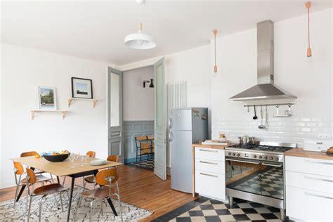 cuisine bourgeoise rénovation décoration maison bourgeoise scandinave