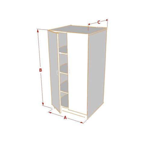 armoire sur mesure demi hauteur