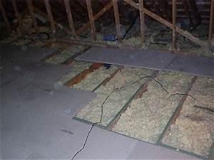 combles la pose du plancher bois amenagement des combles With site pour plan maison 12 dalles et planchers de verre