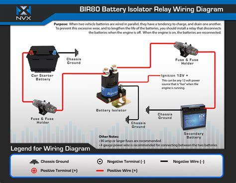 Nvx Bir Amp Relay Battery Isolator