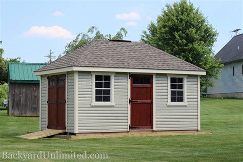 Sheds  Hip Roof  Backyard Unlimited