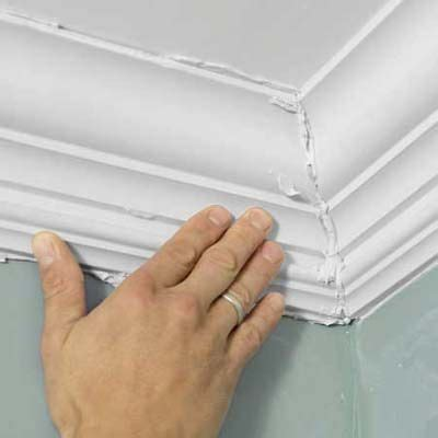 How To Install Easy Crown Molding  The Two, Mom And House