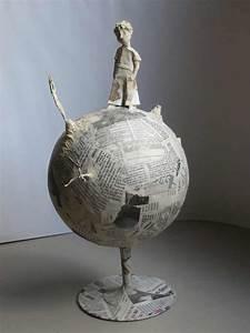 Sculpture En Papier Maché : r alisation en papier m ch atelier art plastique ~ Melissatoandfro.com Idées de Décoration