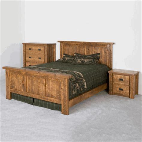 viking pioneer barnwood bedroom set