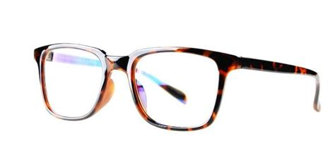 blue light glasses clear blue light protector eyewear style 701 brown tortoise tr90