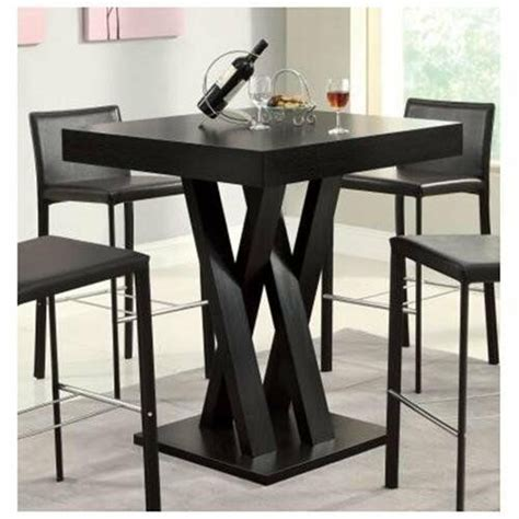square bar table room kitchen pub dining furniture bistro