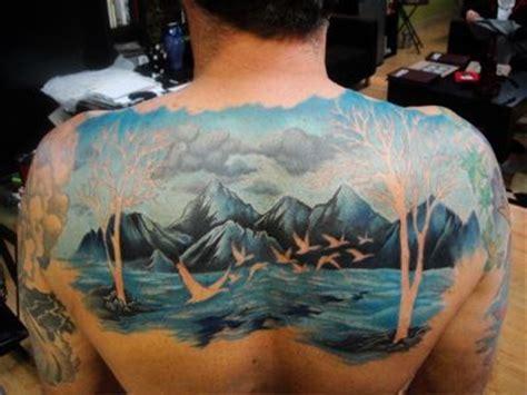 Best Landscape Tattoos Images Pinterest