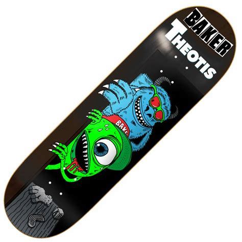 75 skateboard decks baker skateboards baker theotis creatures skateboard deck