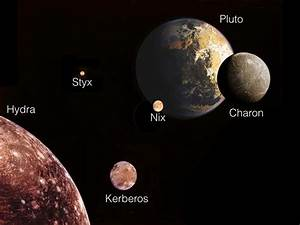 Hubble catches moons in gyrating dance around Pluto | The ...
