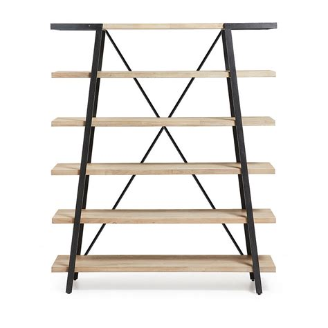 etagere metal bois etag 232 re design bois et m 233 tal 150x180 spike by drawer