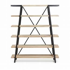 Etagere Bois Design : etag re design bois et m tal 150x180 spike by drawer ~ Teatrodelosmanantiales.com Idées de Décoration