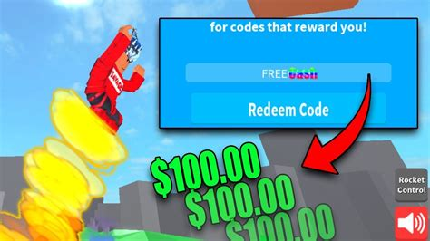 rocket simulator codes working roblox rocket