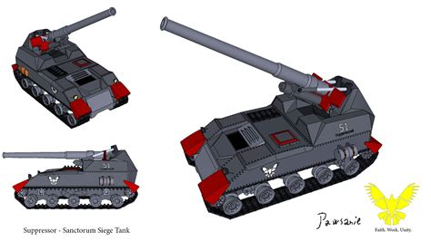 manpower siege suppressor sanctorun siege tank by pawsanie on deviantart