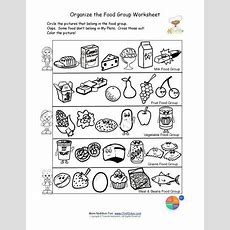 Free Food Groups Printable Nutrition Education Worksheet Kids Learn About The Usda Food Pyramid