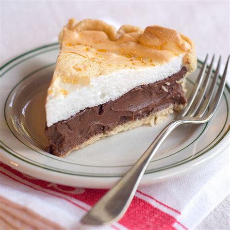 chocolate pie recipe easy easy chocolate meringue pie