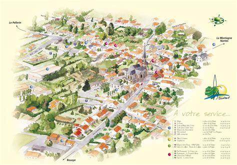 Mairie Ville De Plan De Création Plan De Ville Conception De Plan De Ville