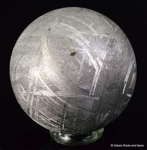 muonionalusta iron meteorite sphere widmanst 228 tten 28 mm