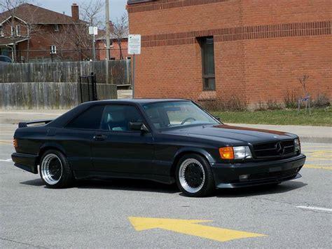 1985 Mercedes 500sec Amg 5.4 Widebody 540sec