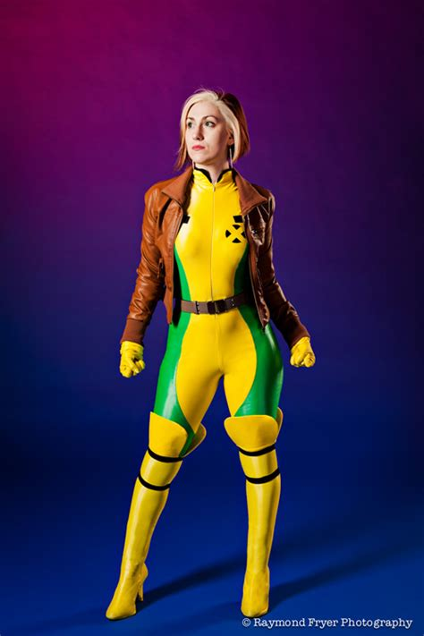 rogue cosplay marvel tipple erin female characters character comics cosplaying xmen