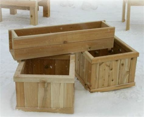25+ Best Ideas About Wood Planter Box On Pinterest