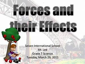 Forces And Their Effects