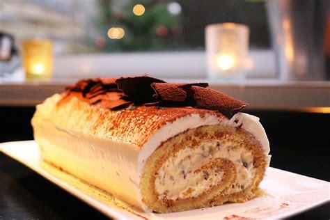 hervé cuisine buche marron recette de fêtes la bûche tiramisu par hervé cuisine