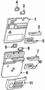 Chevrolet K2500 Suburban Interior Door Handle Trim