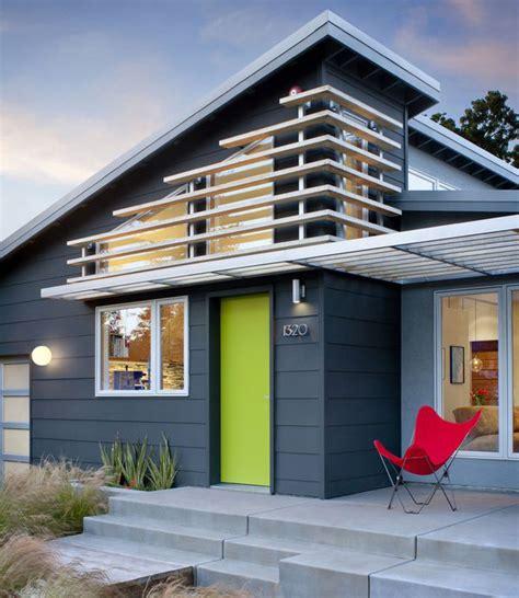 Blue & White Modern Color Scheme » House Exterior