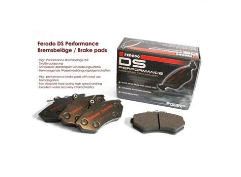 ferodo ds performance brake pads set ferodo ds performance sport brake pads