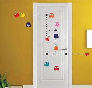 wall decals and murals home design With pacman wall decals gamers room ideas
