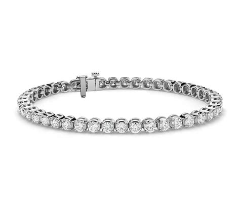 Diamond Tennis Bracelet In 14k White Gold (7 Ct Tw. Pearl Diamond Earrings. Cross Bracelet. Gold Earring Diamond. Silver Jewelry Rings. Handcrafted Bracelet. Army Ranger Watches. Light Weight Gold Jewellery. Fire Department Rings