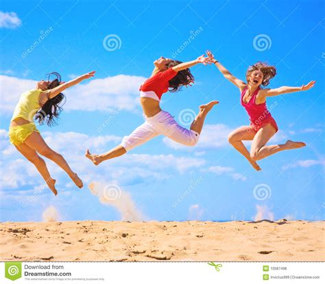 Active Girls Stock Photo Image Of Landscape, Happiness
